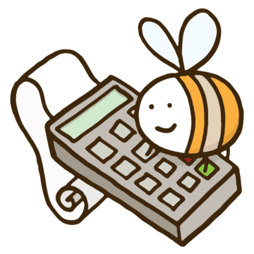Bee Accountant Logo
